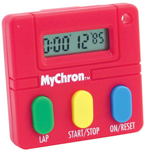 MyChron Student Timer for Soil Experiments