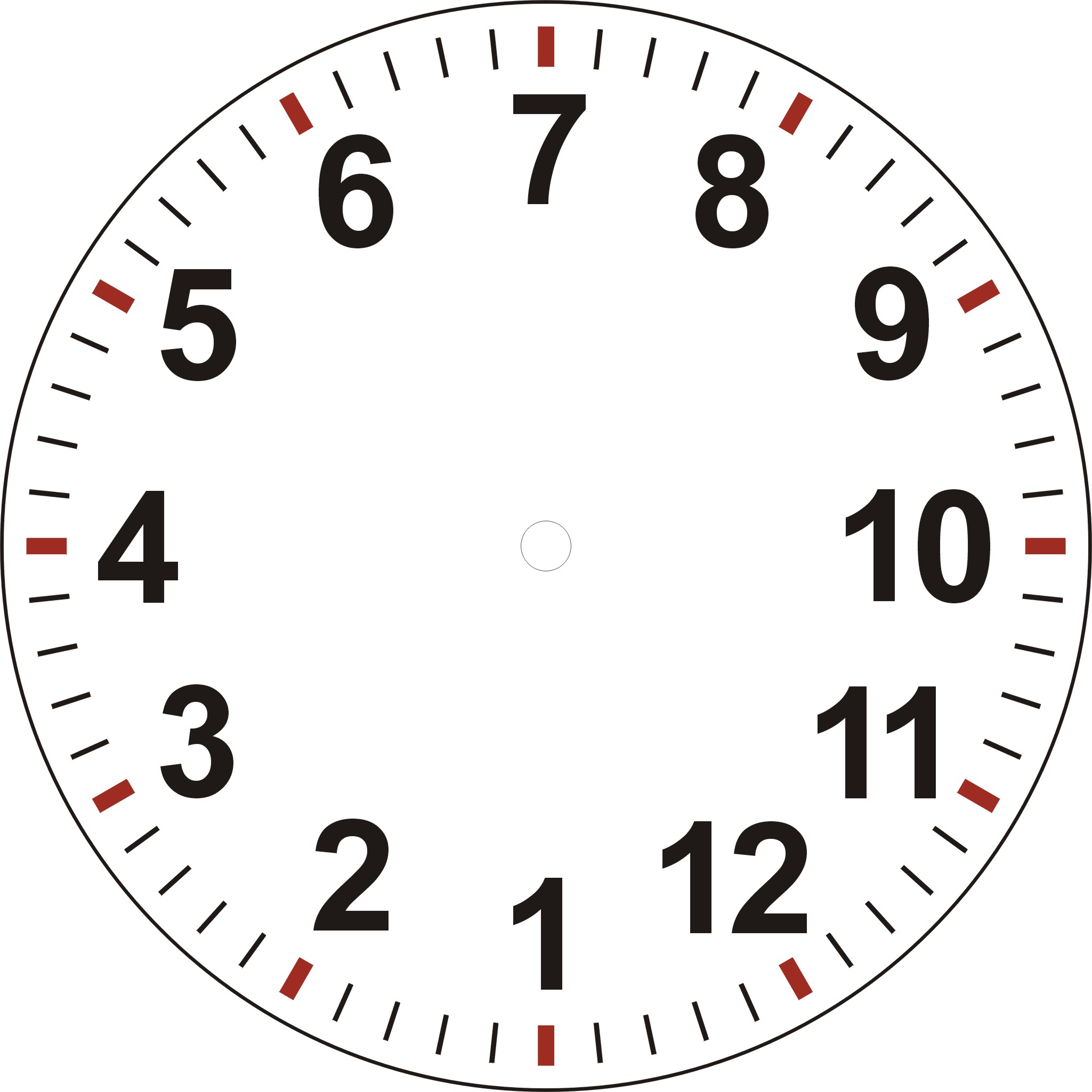 Make Your Own Clock Faces – Clock Face Template