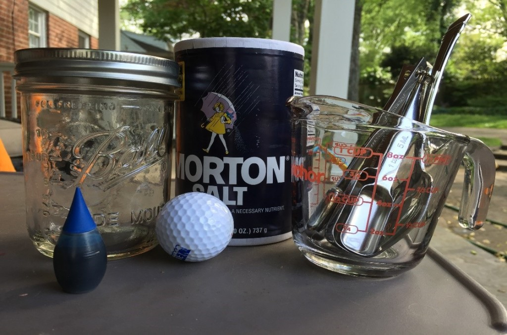 Floating Golf Ball Density Experiment - Educational Innovations Blog